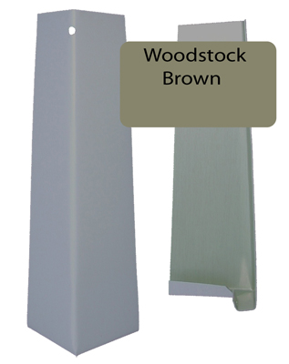 Woodstock Brown Smooth Outside Corner For 5 16 X 6 25 Siding Pro Siding Accessories