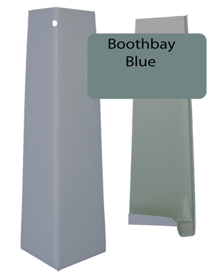 Boothbay Blue Smooth Outside Corner For 5 16 X 8 25 Siding