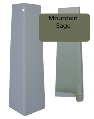 Mountain Sage Smooth Outside Corner For 5 16 X 8 25 Siding Pro Siding Accessories