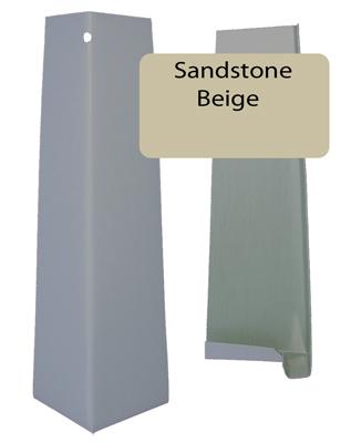 Sandstone Beige Smooth Outside Corner For 5 16 X 8 25