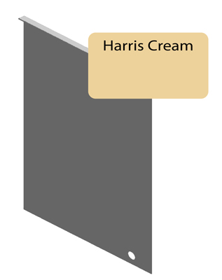 Harris Cream Junction Flashing For 6 25 Quot Siding Pro Siding Accessories