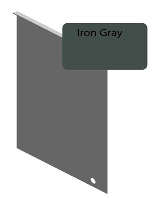 Iron Gray Junction Flashing For 8 25 Quot Siding Pro Siding