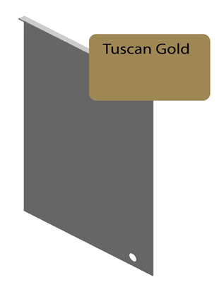Tuscan Gold Junction Flashing For 8 25 Quot Siding Pro