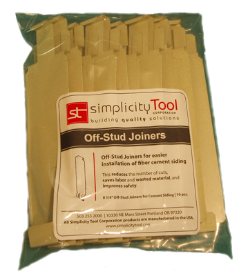 Primed Off Stud Joiner For 9 25 Quot Siding Bag Of 10 Pro Siding Accessories