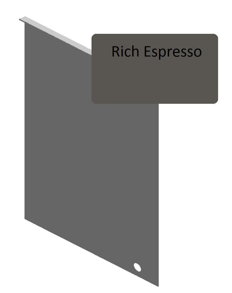 Rich Espresso Junction Flashing For 8 25 Quot Siding Pro Siding Accessories