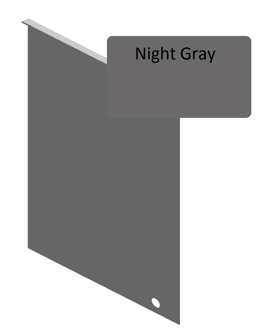 Night Gray Junction Flashing For 8 25 Quot Siding Pro Siding Accessories